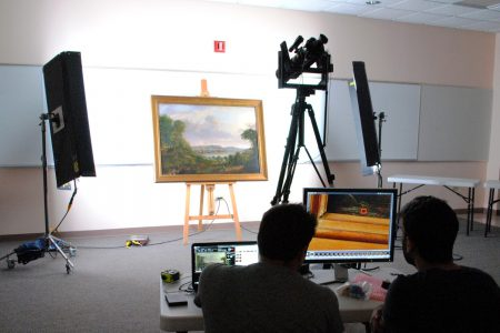 Google представила роботизированный фотоаппарат Art Camera для съемки картин в сверхвысоком разрешении