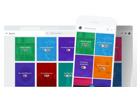 Google представила мессенджер Spaces со встроенными возможностями Google Search, YouTube и Chrome