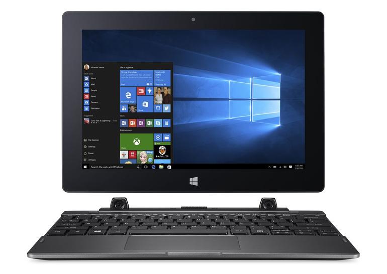 Acer анонсировала два доступных гибридных ноутбука Switch V 10 и Switch One 10