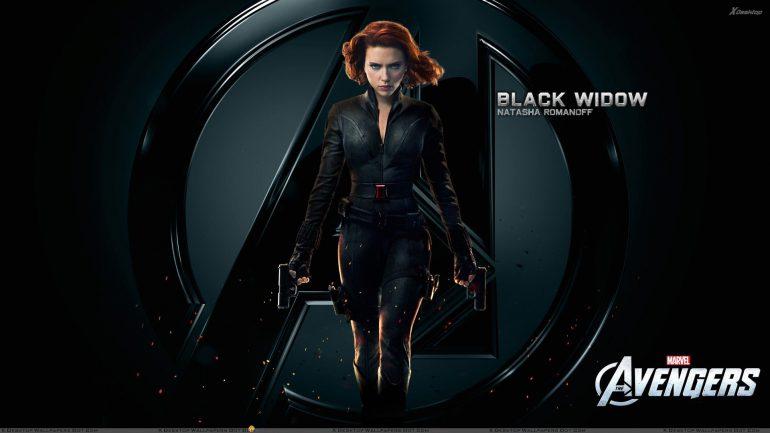 The Avengers - Scarlett Johansson Black Widow