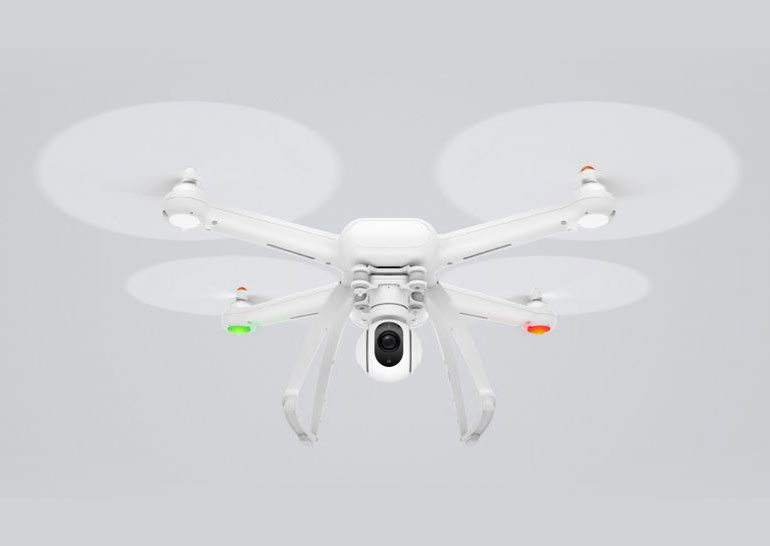 Xiaomi представила модульный квадрокоптер Mi Drone с 4К-камерой