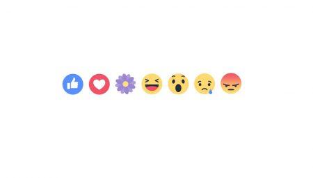 Ко Дню матери Facebook добавит новую временную реакцию в виде цветка
