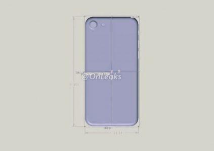 Изображение макета iPhone 7 свидетельствует об одинаковых длине и ширине по сравнению с iPhone 6s