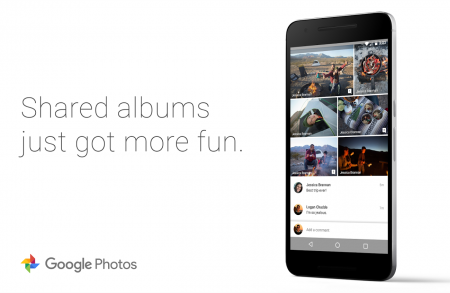 В Google Photos появились комментарии и умные подсказки