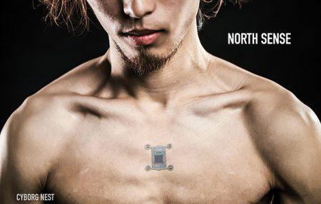 Имплантат North Sense добавляет в тело человека функциональность простейшего компаса