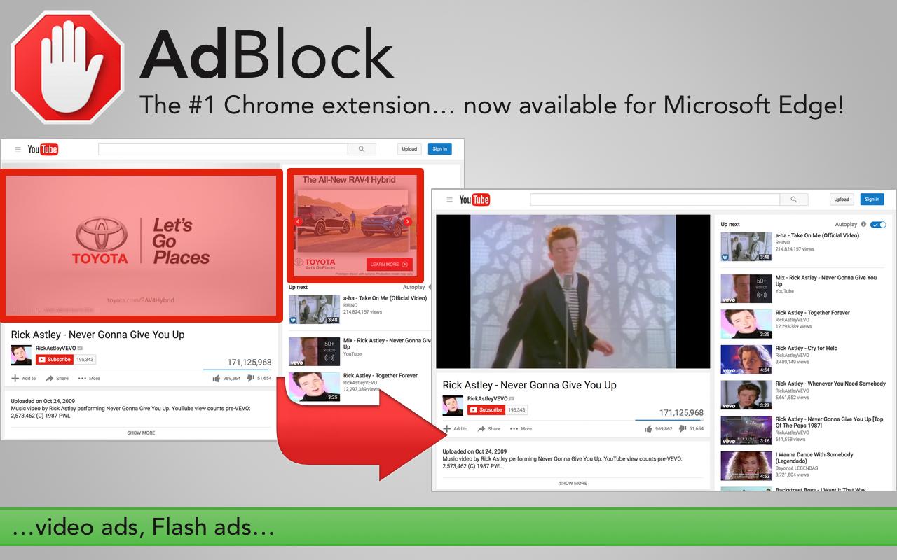 Adblock plus для edge в windows 10 скачать