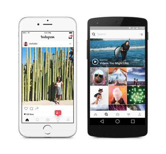 У Instagram обновились логотип и дизайн приложения