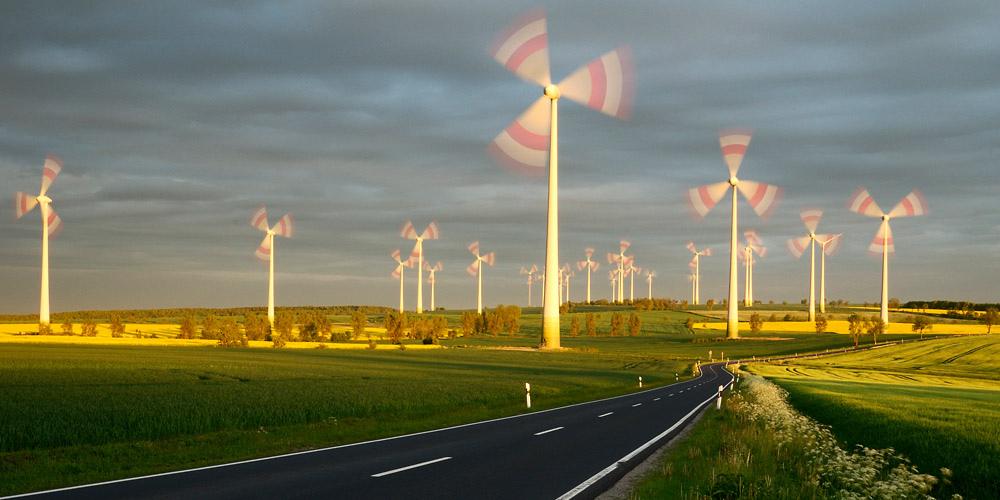 Wind farm eichsfeld thuringen photo lars schmidt
