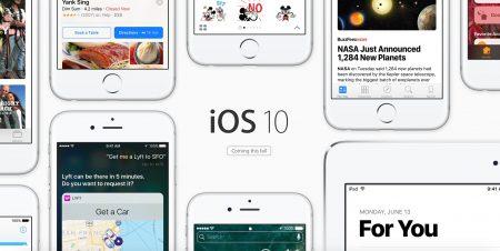 Обзор iOS 10 Developer Preview