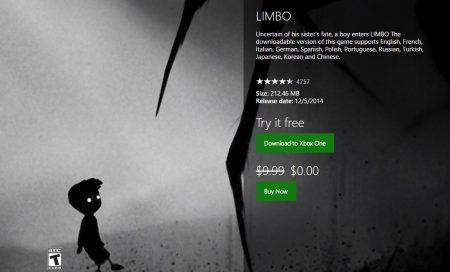 В Xbox Store бесплатно раздают игру Limbo