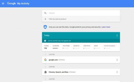 В сервисе My Activity можно посмотреть все, что о вас знает Google