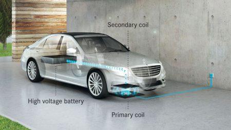 Mercedes-Benz обещает беспроводную зарядку в гибридах S-Class уже в 2017 году
