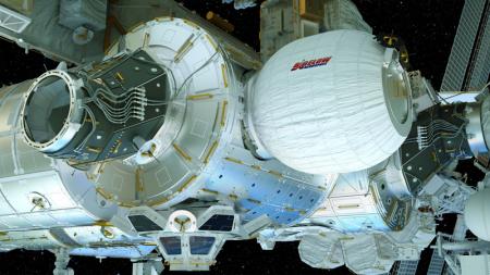Астронавты МКС впервые вошли в надувной жилой модуль BEAM