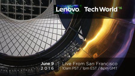 Прямая видеотрансляция Lenovo Tech World 2016: Motorola Moto Z, Lenovo Project Tango и другие