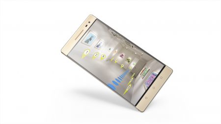 Lenovo представила сразу три огромных смартфона PHAB2, включая модель PHAB2 Pro с технологиями Google Project Tango