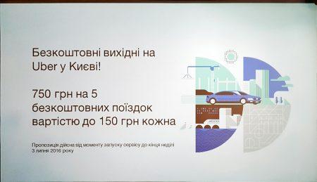 С сегодняшнего дня и до воскресенья воспользоваться Uber в Киеве можно будет бесплатно, Кличко уже проехался