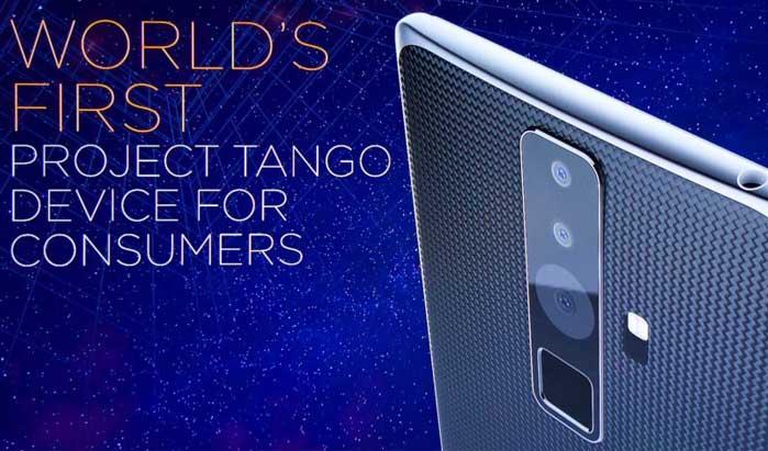 Lenovo PHAB2 Pro: 1-ый смартфон споддержкой Project Tango