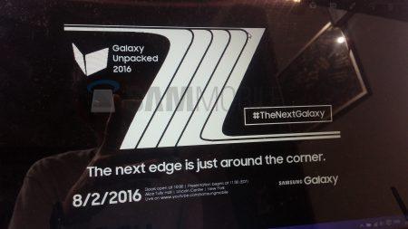 Смартфон Samsung Galaxy Note 7 представят 2 августа в рамках мероприятия Galaxy Unpacked 2016