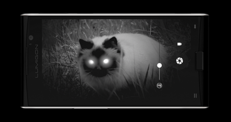 Разработчики представили дебютный смартфон с режимом ночного видения, который получил название Lumigon T3
