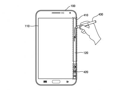 На изогнутых гранях Samsung Galaxy Note 7 можно будет рисовать и писать с помощью стилуса