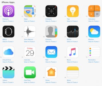 Apple перенесла часть системных приложений iOS в App Store