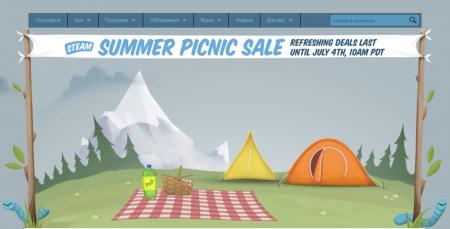 Почався літній розпродаж у Steam