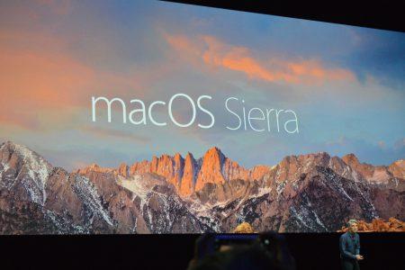 Apple переименовала настольную операционную систему OS X в macOS