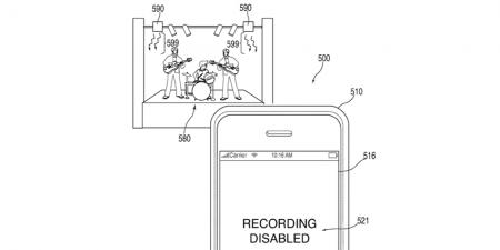 С новым патентом Apple может блокировать камеру iPhone на концертах и в других местах