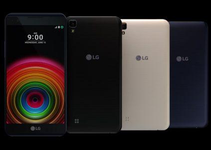 LG анонсировала четыре новых смартфона в рамках линейки X Series