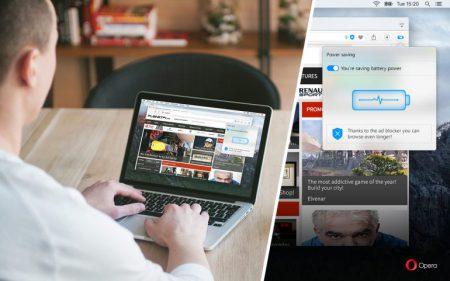Opera утверждает, что ее браузер ощутимо превосходит Microsoft Edge по энергоэффективности