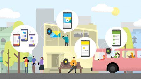 Google внедряет поддержку технологии Nearby в Android – сторонние приложения смогут обмениваться данными со специальными Bluetooth-маячками