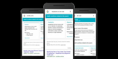 Медицинский поиск Google позволит диагностировать заболевания по симптомам