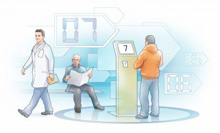 В Киеве запускают систему, которая должна решить проблему бесконечных очередей в поликлиниках [инфографика]