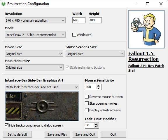 Fallout 1 5 resurrection скачать торрент