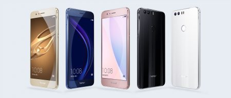 «Как флагман, но вдвое дешевле»: представлен смартфон Huawei Honor 8 с SoC Kirin 950, 5,2″ экраном Full HD и двумя основными камерами разрешением 12 Мп каждая