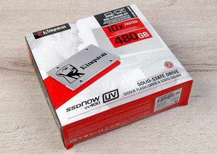 Обзор накопителя Kingston SSDNow UV400 480 ГБ