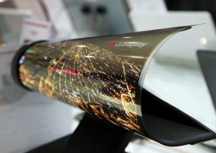 В 2017 году на рынке ожидается появление устройств на базе сгибаемых дисплеев от LG