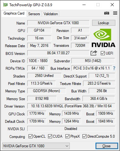 MSI_GTX1080_Gaming_X_8G_screen_GPU-Z_info-OC