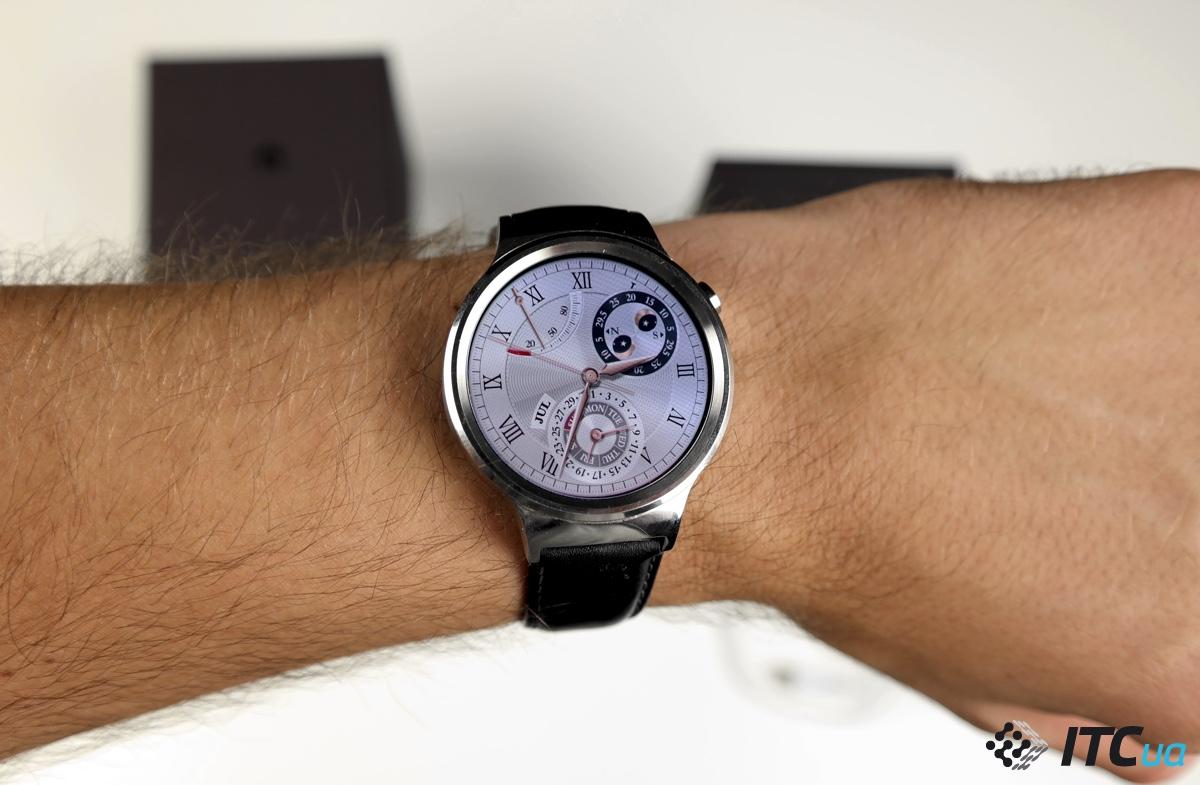 Экспресс-обзор умных часов Huawei Watch на Android Wear - ITC.ua 48b8b73ce18