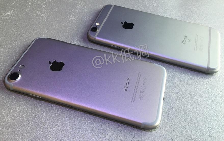 Фото и видео, на которых смартфон Apple iPhone 7 сравнивается с нынешней  моделью iPhone 6s 165668f039a