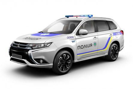 Национальная полиция Украины получит 651 гибридный кроссовер Mitsubishi Outlander PHEV в рамках Киотского протокола