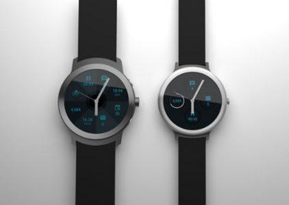 Появились первые рендерные изображения будущих умных часов Google