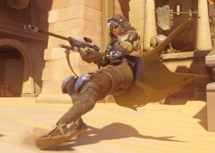 В игре Overwatch появился новый персонаж – снайпер поддержки Ана