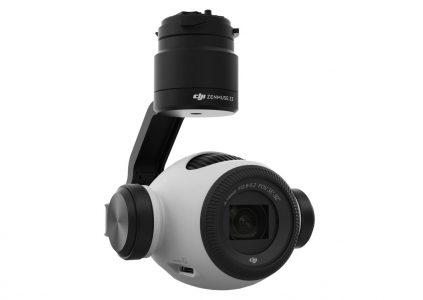 DJI представила Zenmuse Z3 — первую интегрированную аэрофотокамеру с оптическим зумом