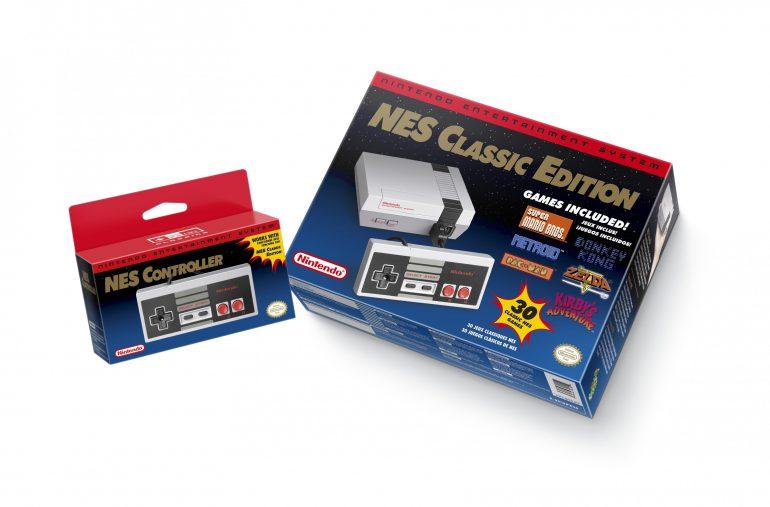 Nintendo анонсировала перезапуск игровой консоли NES с 30 встроенными играми
