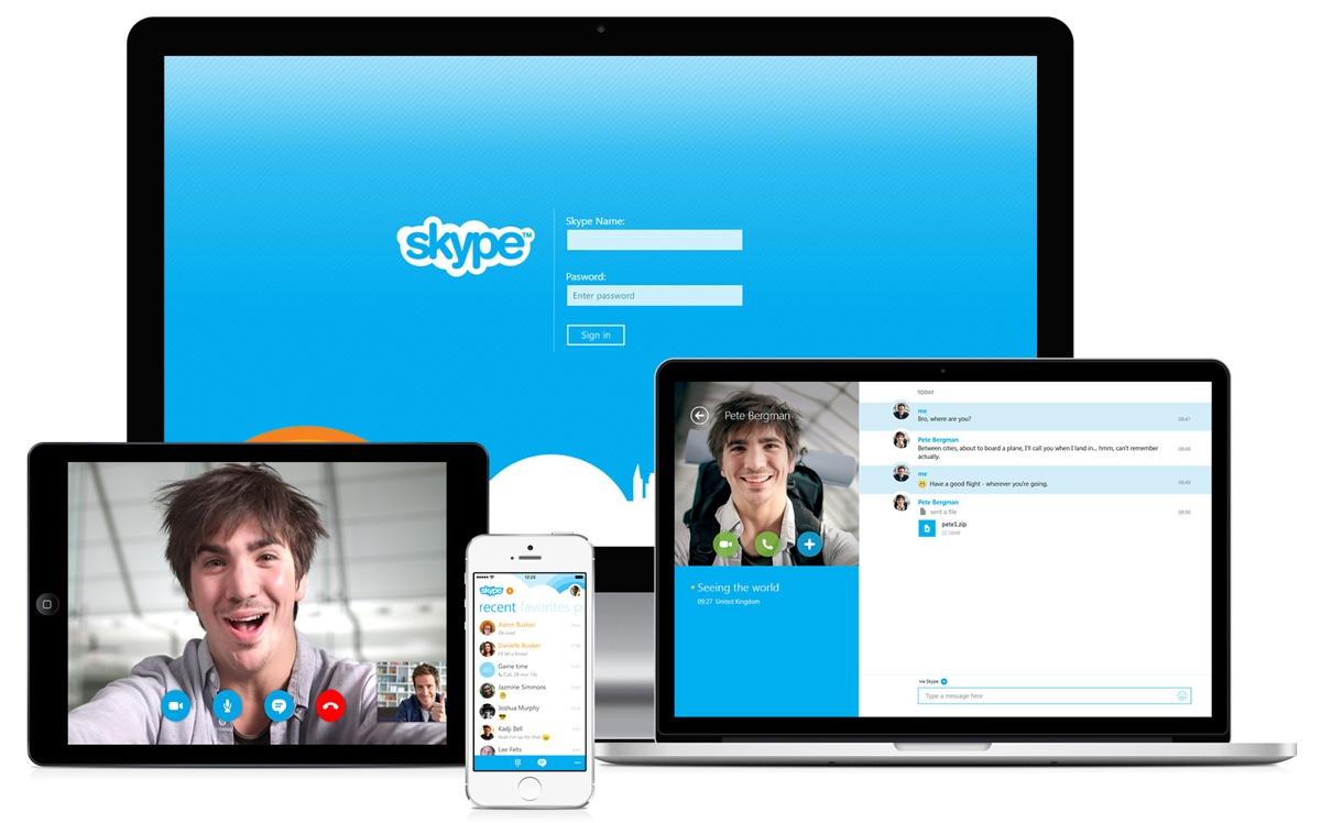 Как сделать скайп другому человеку на своем компьютере