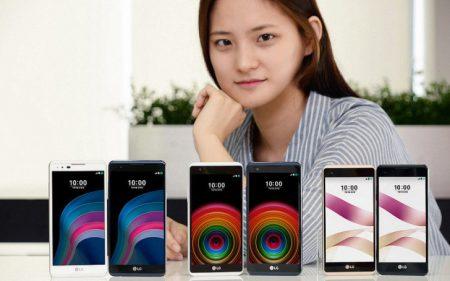 Серию смартфонов LG X пополнили бюджетные модели X5 и X Skin
