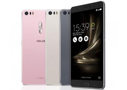 ASUS анонсировала версию ZenFone 3 Deluxe с процессором Snapdragon 821, 6 ГБ ОЗУ и 256 ГБ флэш-памяти