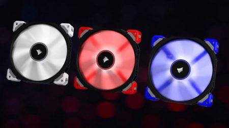 Corsair представила вентиляторы на магнитной левитации