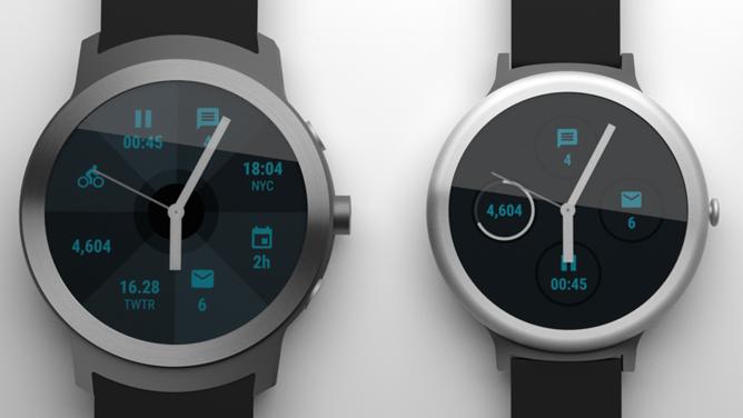 Появились рендерные изображения умных часов Google
